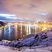 winter panorama of St. John's harbour, Newfoundland by tuanland
