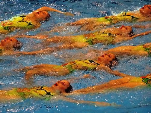 Synchronschwimmen: German Masters in Bonn (Frankenbad)