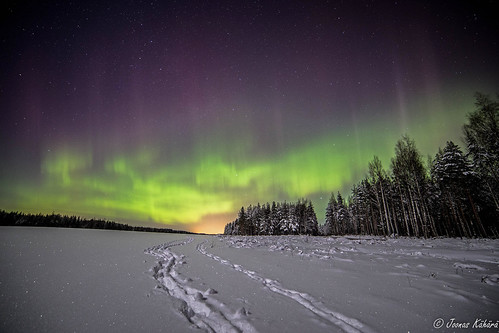 Northern lights @ Kymi