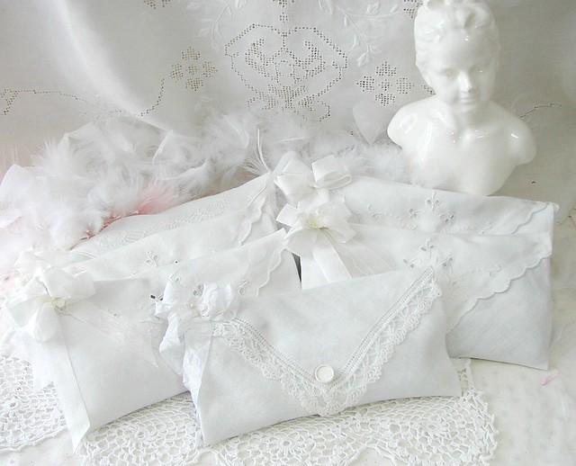 Lavender filled Hanky Envelopes
