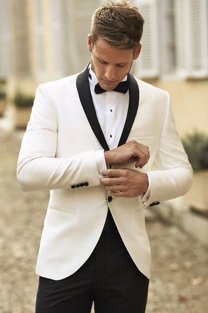 WG Tux White Black