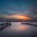 Sunset Over Currituck Sound by Thomas | Barton