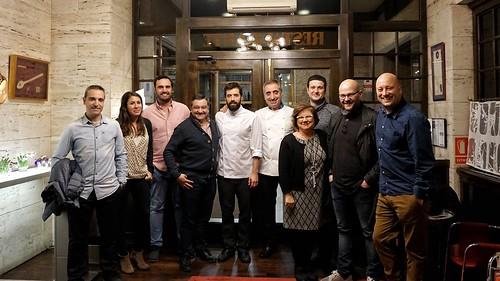 Reunión de bloggeros en Casa Fermín