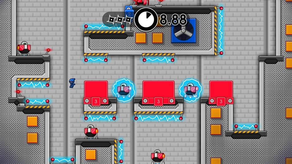 10 Second Ninja X on PS4, PS Vita