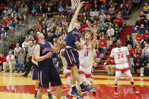 Boys Basketball vs Southport