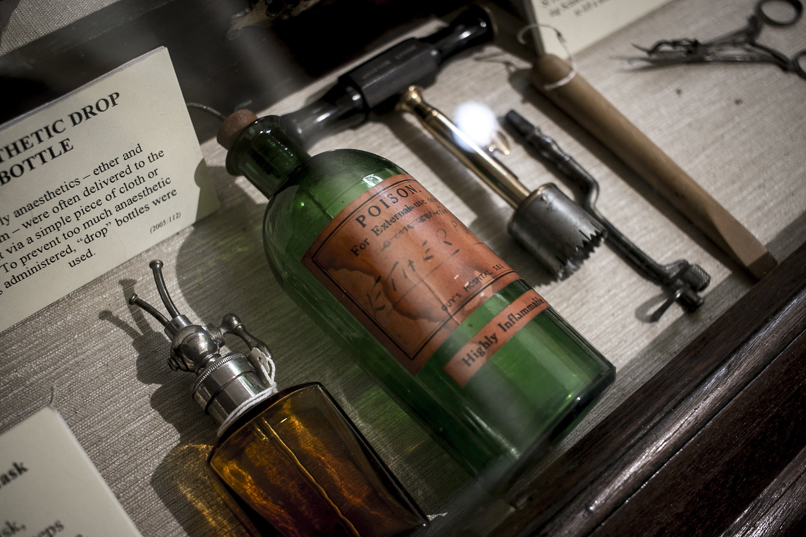 the old operating theatre, cabinet of curiosities, old medical instruments, herb garret