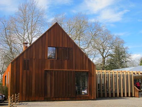 Mottisfont Abbey Gardens, Welcome Centre