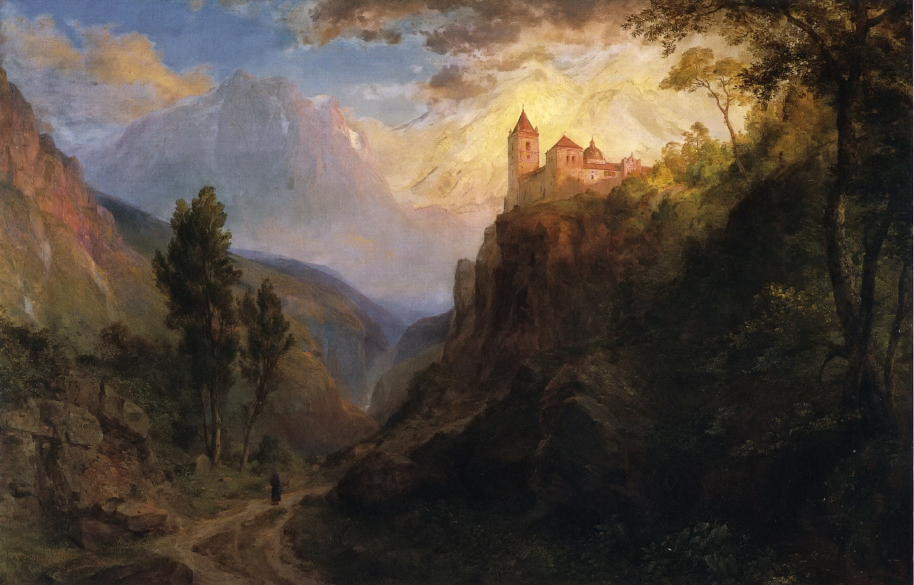 The Monastery of San Pedro by Frederic Edwin Church, 1879