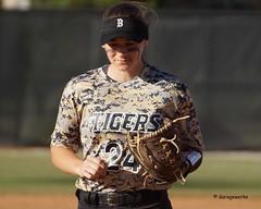 Tiger Softball vs Rogers