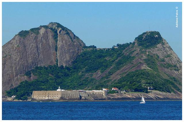 Praia praias De Dentro De Fora Forte Fortaleza de São João Urca - Clique para ampliar