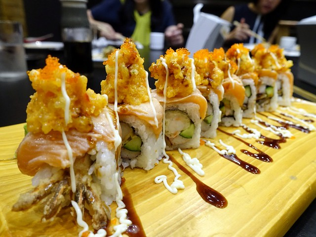Oedo Japanese Restaurant- Dragon Maki P495