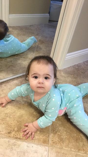Crawlin in the bathroom