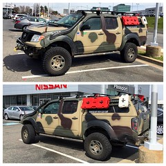 I really like this Frontier #mischieftv #nissan #frontier #camo #frontieroffroad #offroad
