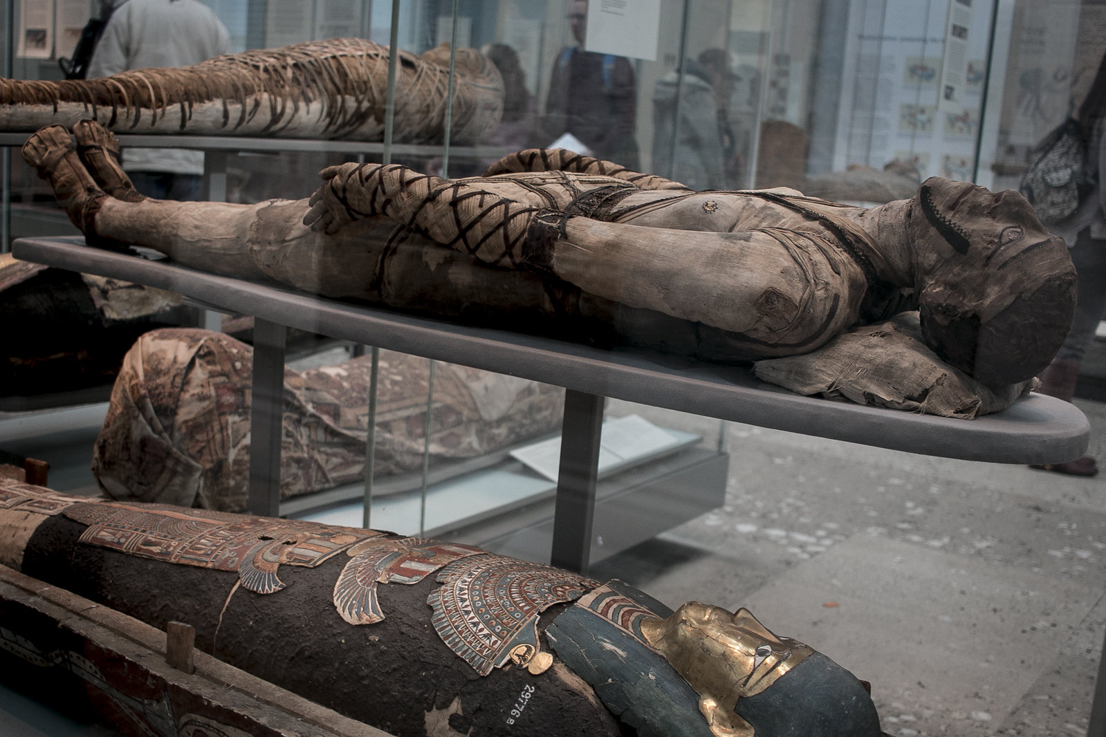 mummies in british museum, mummy, egyptian mummy, british museum