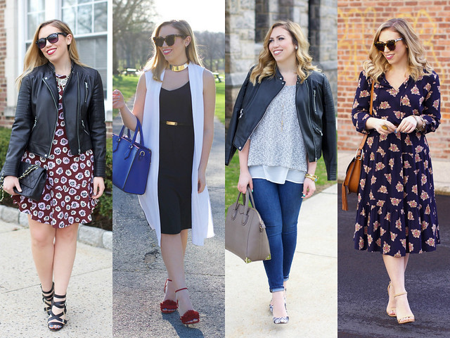 April Spring Outfits | April 2016 on Living After Midnite
