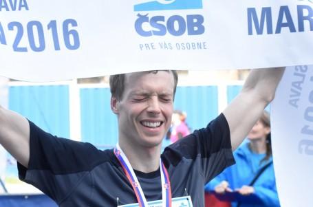 Český vítěz maratonu v Bratislavě inkasoval 300 euro