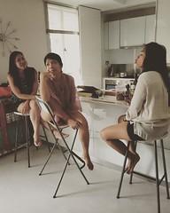 Girls. #housewarminggoals #Sunday #Singapore #besties #bps