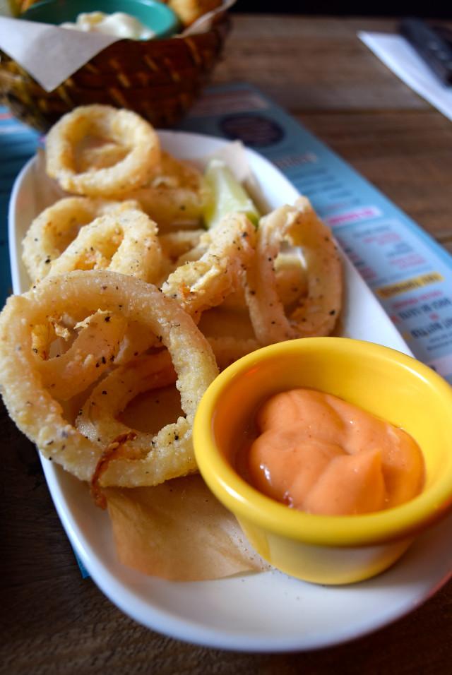 Calamari Rings at Cabana, Covent Garden | www.rachelphipps.com @rachelphipps