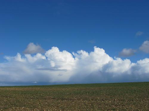 Cloudscape near Dunbridge Hill