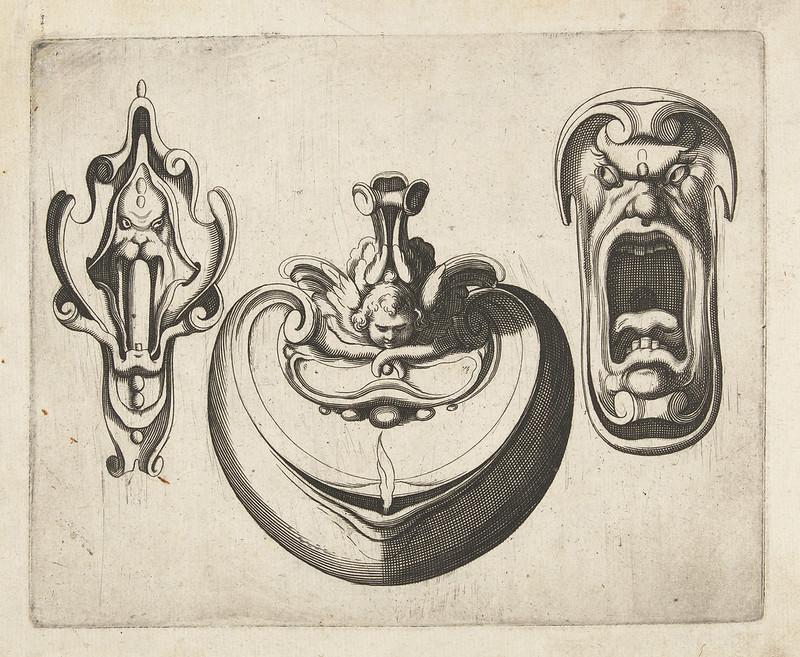 Arent van Bolten - Grotesque Creatures 17, 1604-1616