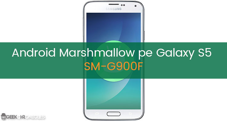 Android Marshmallow Galaxy S5
