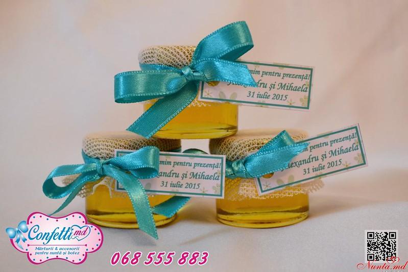 Borcănaşele cu miere - amintirea dulce de la evenimentul dvs! > Foto din galeria `Borcănaşe pentru nuntă! `