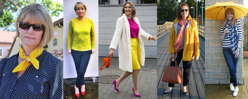 Fashion bloggers in yellow #iwillwearwhatilike