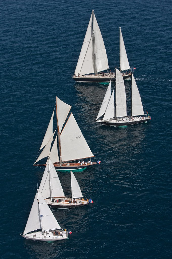 La Flotte des Pen Duick aux Voiles de Saint Tropez - G.MARTIN RAGET-BPCE (2)