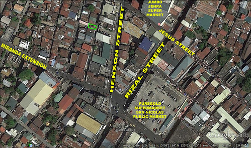 SOLD! 250sqm Lot Angeles City Proper! Ref# 0000753