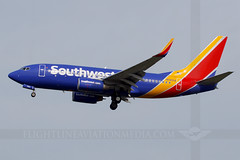 Southwest Airlines Boeing 737-7CT N7825A