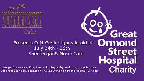 O.M.GOSH-iganS Charity Event