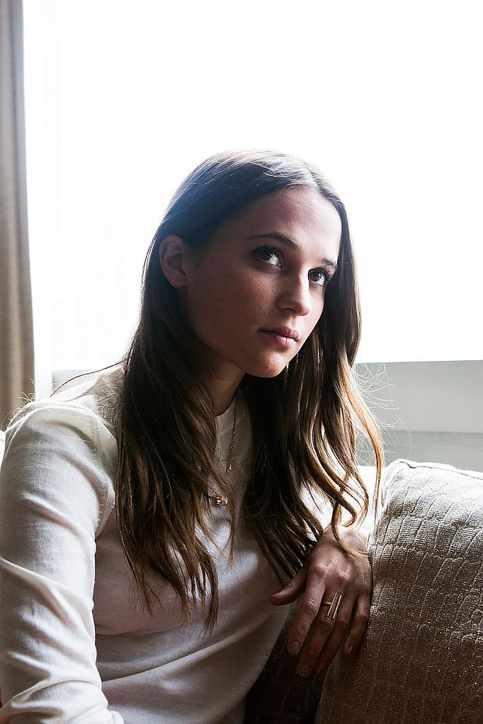 Алисия Викандер — Фотосессия для «NY Times» 2015 – 2