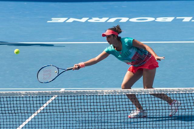 Sania Mirza at the Australian Open 2016