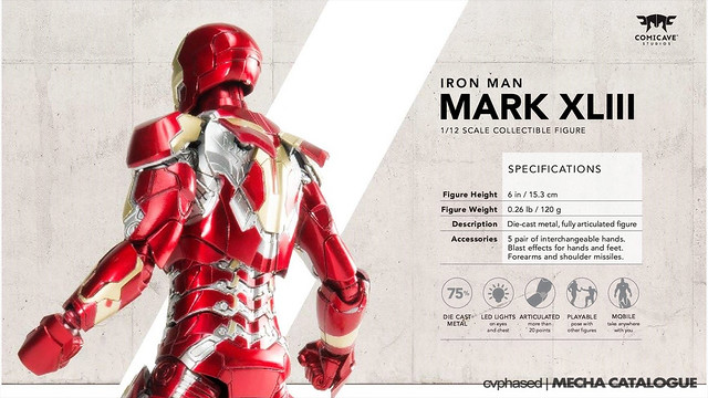 Comicave Studios - Omni Class 1/12 Iron Man Mark 43