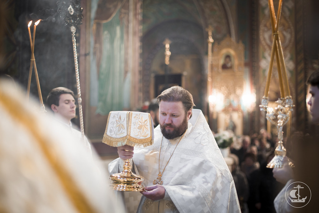 24 января 2016, Литургия в Петергофе / 24 January 2016, Divine Liturgy in Peterhof