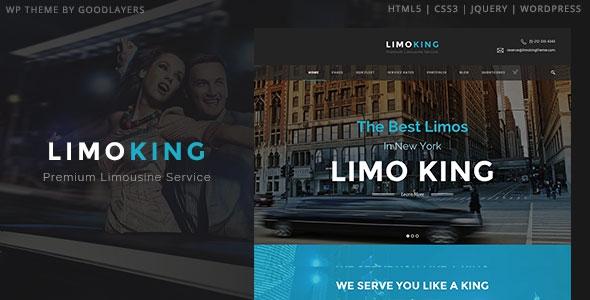 Themeforest Limo King v1.0.3 – Limousine / Transport / Car Hire Theme