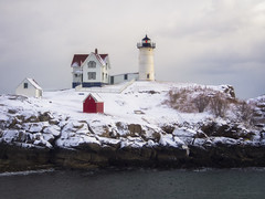 Nubble in Winter