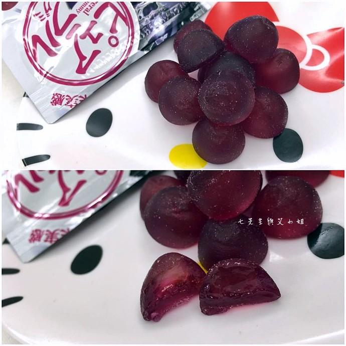 14 日本人氣軟糖推薦 UHA味覺糖 KORORO pure 甘樂鮮果實軟糖