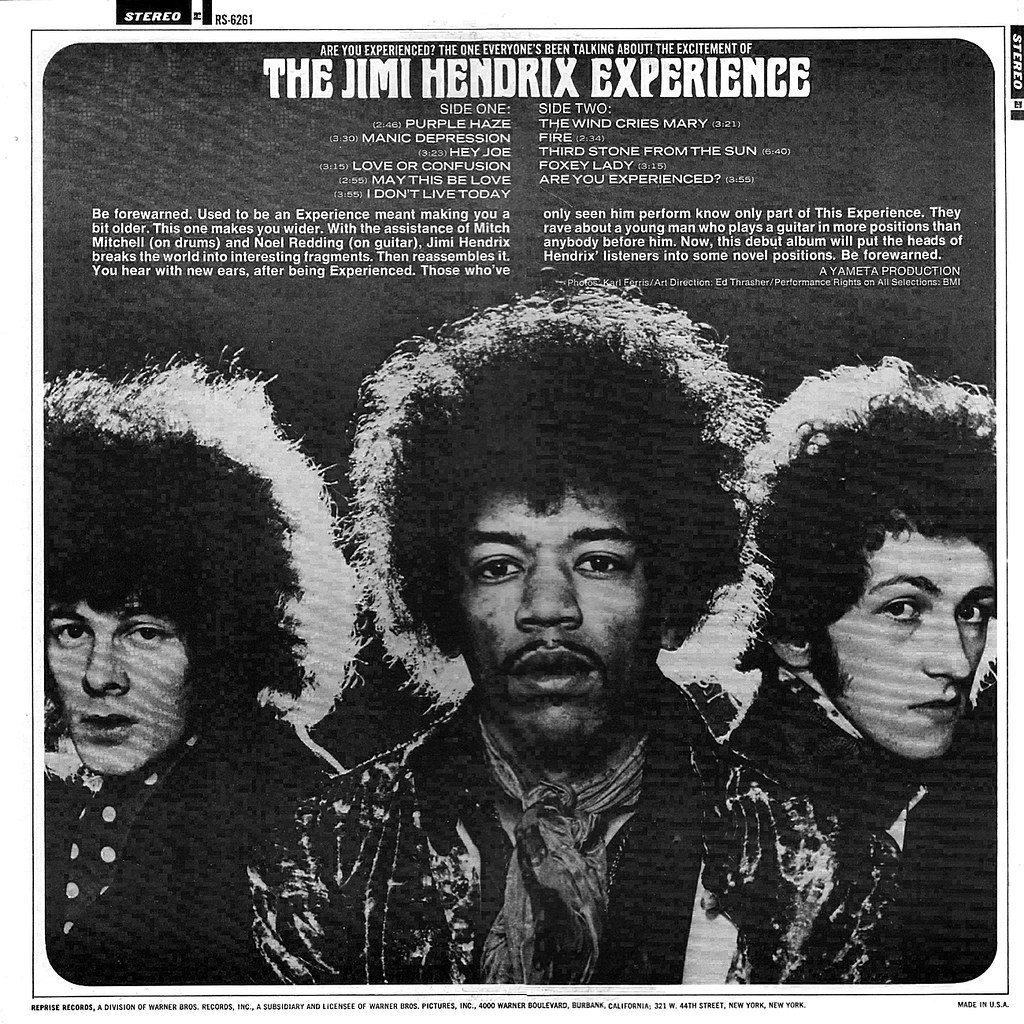 Jimi Hendrix ~ Are You Experienced