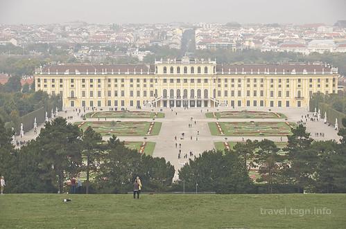 【写真】東欧周遊 : シェーンブルン宮殿