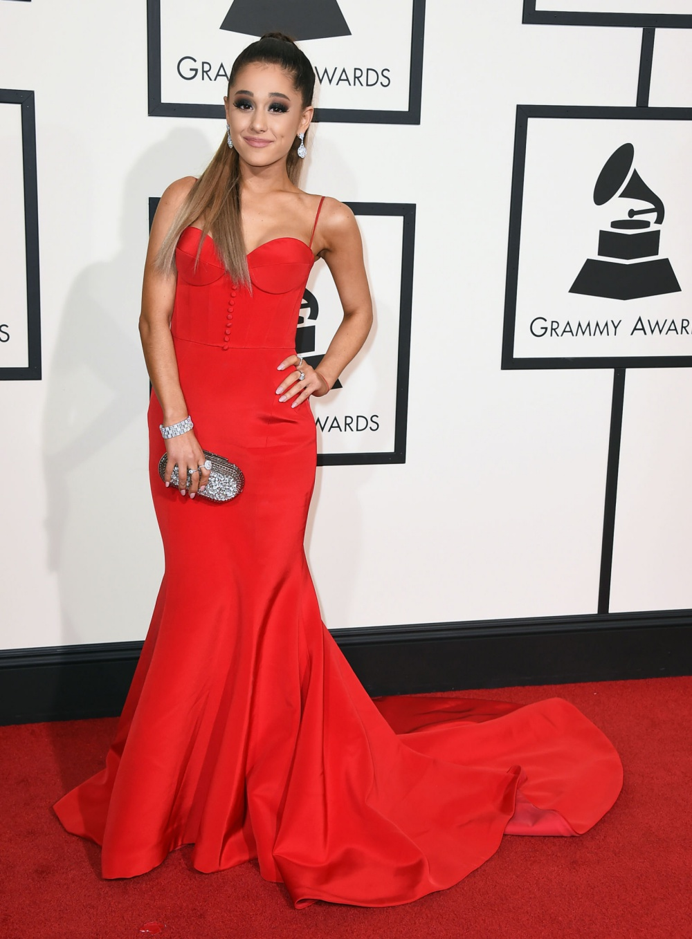 Ariana Grande Grammys 2016 Best Dressed Celebrities