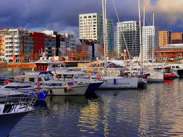 Willemdok marina, Antwerp