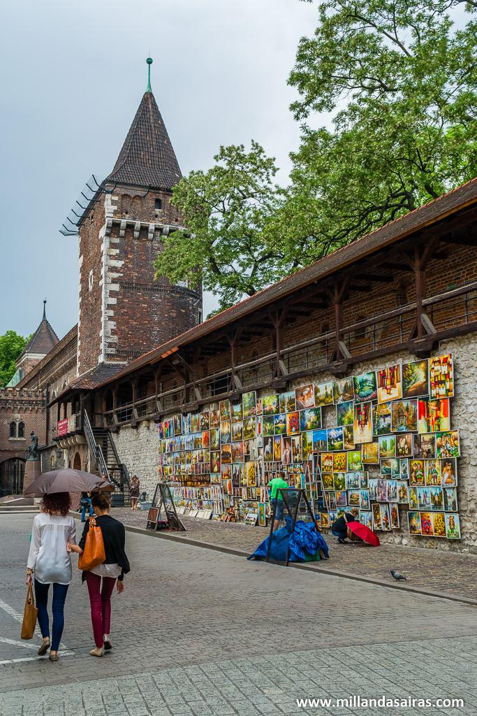 Arte en la puerta Florian