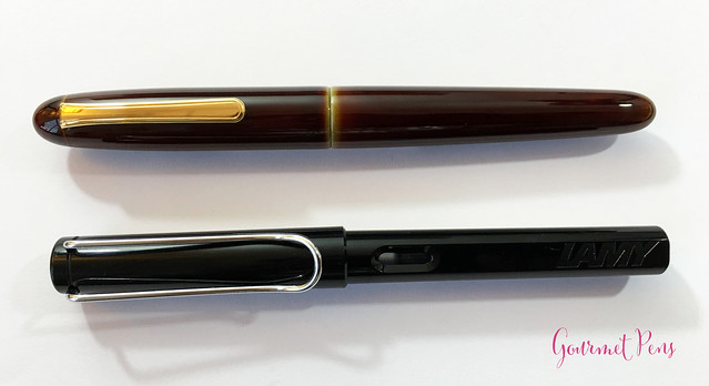 Review Nakaya Cigar Writer Heki-Tamenuri Fountain Pen (12)