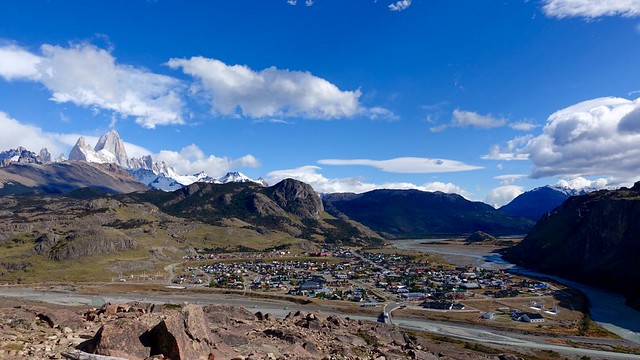 El Chaltén town view