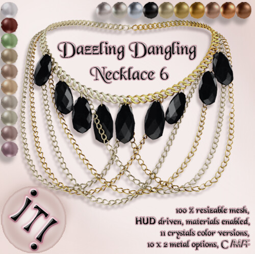 !IT! -  Dazzling Dangling Necklace 6 Image