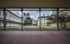 Aradale Lunatic Asylum Female Courtyard