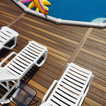 DuraLife Siesta Decking in Tropical Walnut