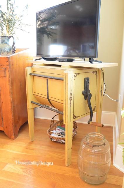 Antique butter churn - Housepitality Designs
