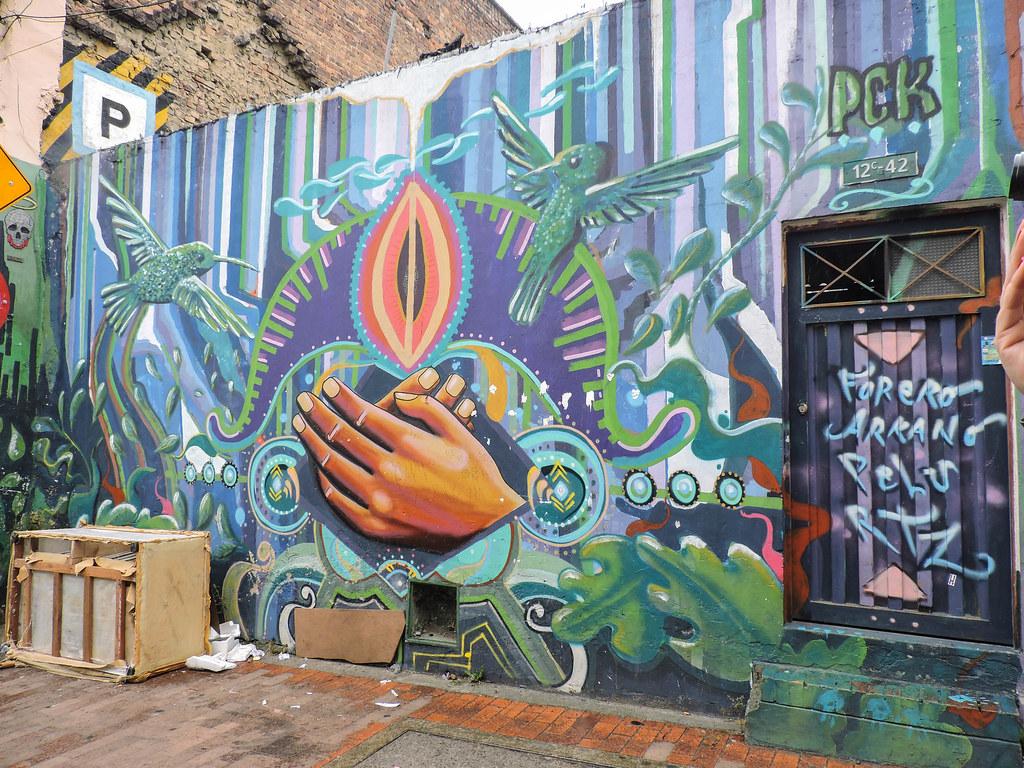 Steet Art in Bogota